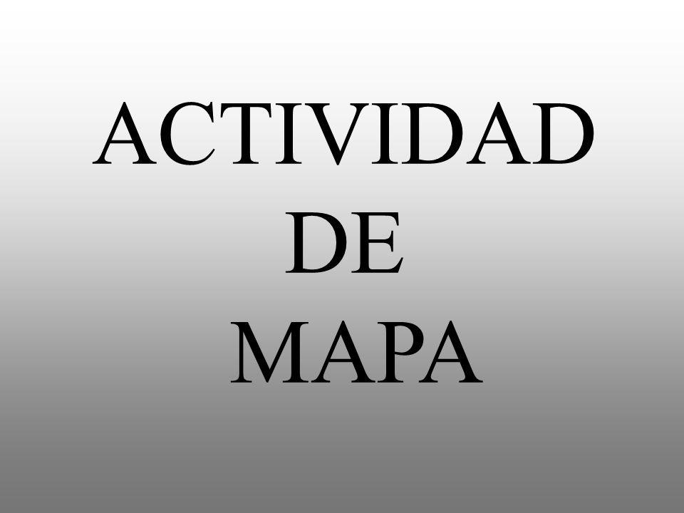 ACTIVIDAD DE MAPA