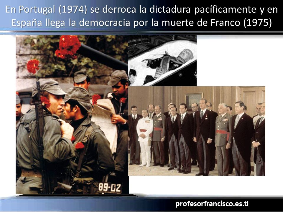 profesorfrancisco.es.tl En 1976, los militares argentinos toman el poder e instauran una sangrienta dictadura anticomunista que arruina al país.