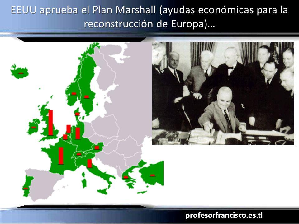 profesorfrancisco.es.tl EEUU aprueba el Plan Marshall (ayudas económicas para la reconstrucción de Europa)…