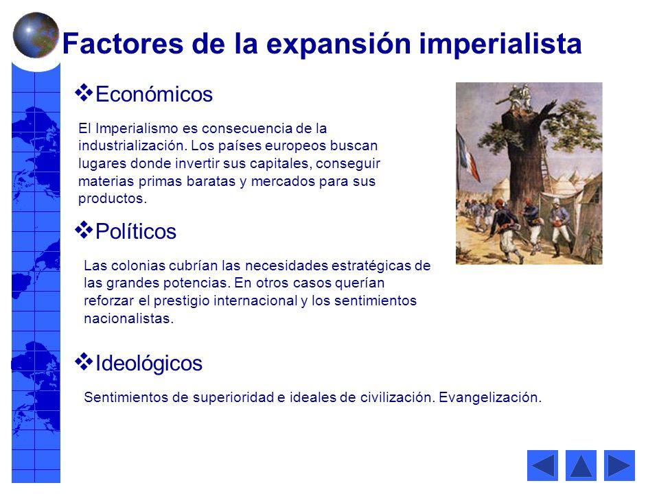El Imperialismo es consecuencia de la industrialización.