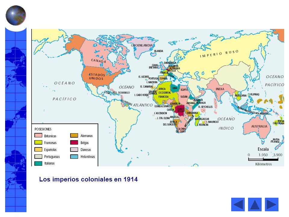Africa en 1914