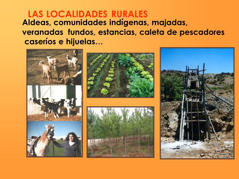 1992: 16,5% población rural.2002: 13,4% población rural.