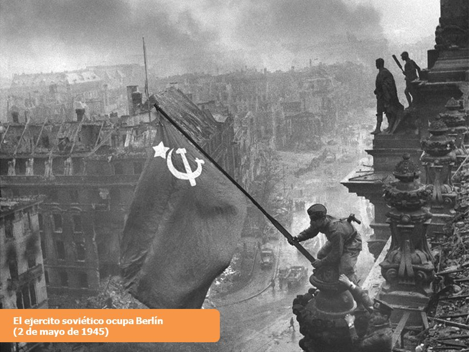El ejercito soviético ocupa Berlín (2 de mayo de 1945)