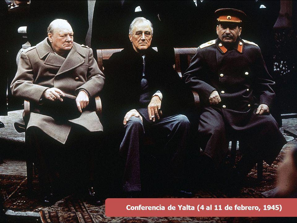 Conferencia de Yalta (4 al 11 de febrero, 1945)