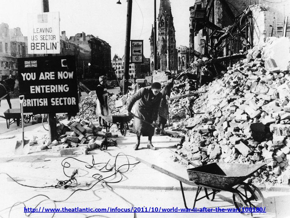 El Muro de Berlín se transforma en el símbolo de la Guerra Fría