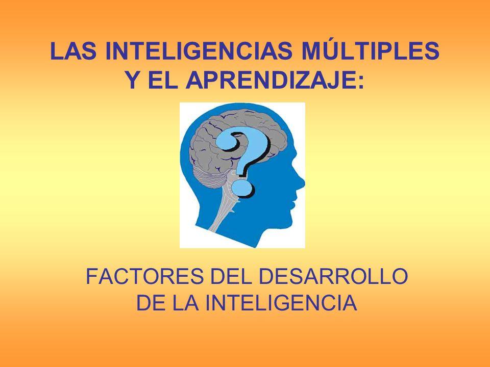 ¿Qué determina la inteligencia.¿En su determinación prima la herencia.