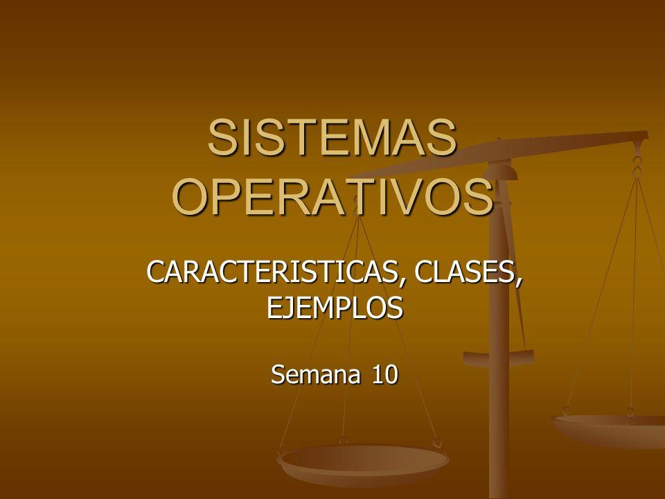 Ing.CIP María Rosa Dámaso Ríos22 TIPOS DE SIST. OPERATIVOS Sistema Operativo Multitarea.