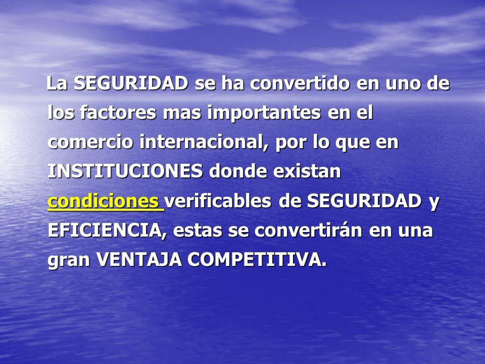 Aéreo Aéreo Incremento de Seguridad en Aeropuertos ( 09/11) Certificación de Instalaciones.