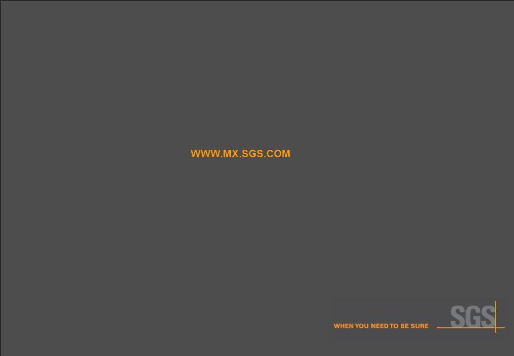 30 WWW.MX.SGS.COM