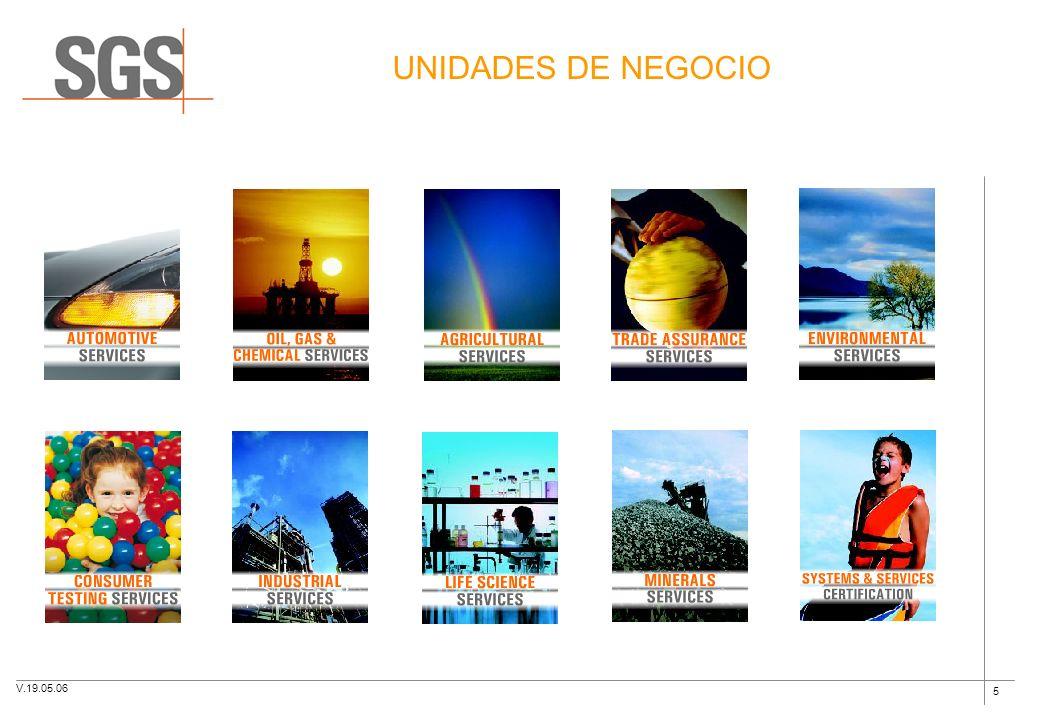 5 UNIDADES DE NEGOCIO V.19.05.06