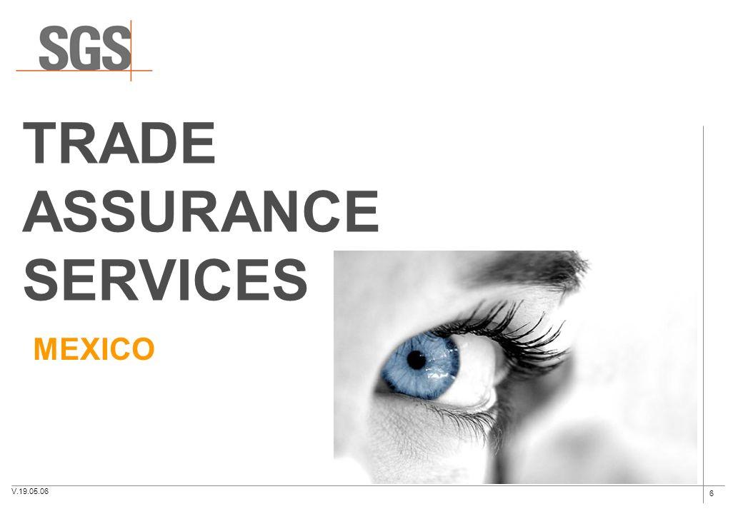 6 TRADE ASSURANCE SERVICES MEXICO V.19.05.06