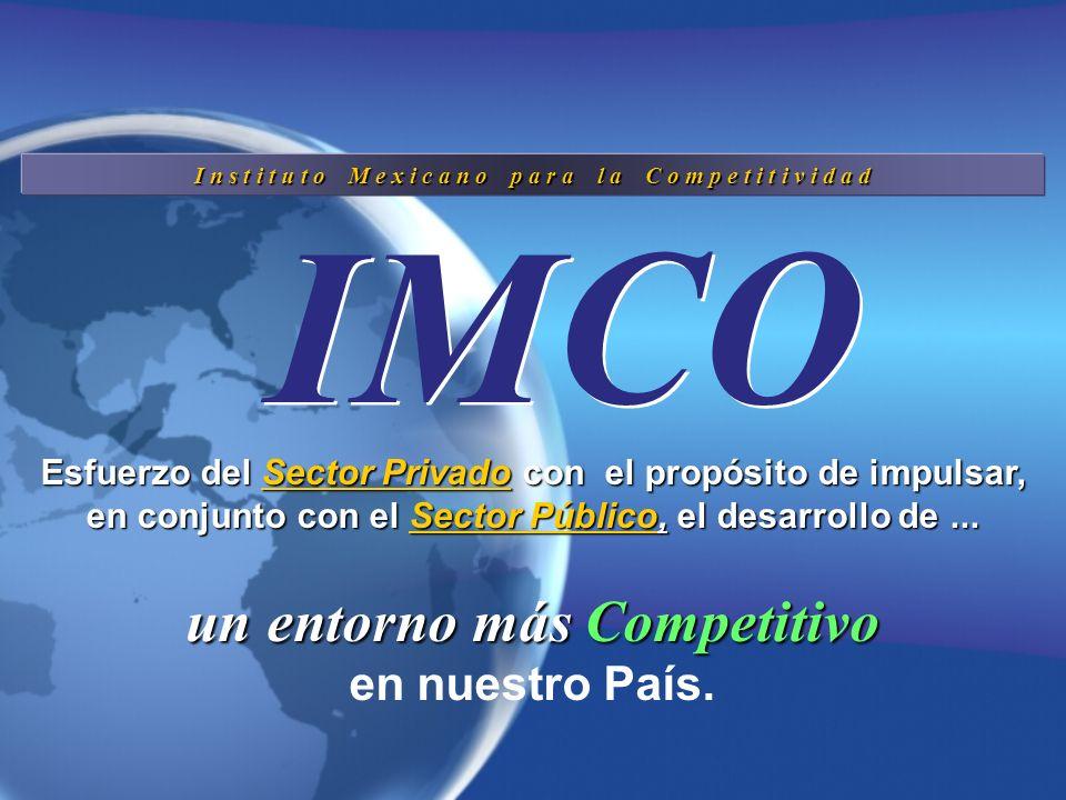 Índice de Competitividad IMCO 2005 1 7 14 33