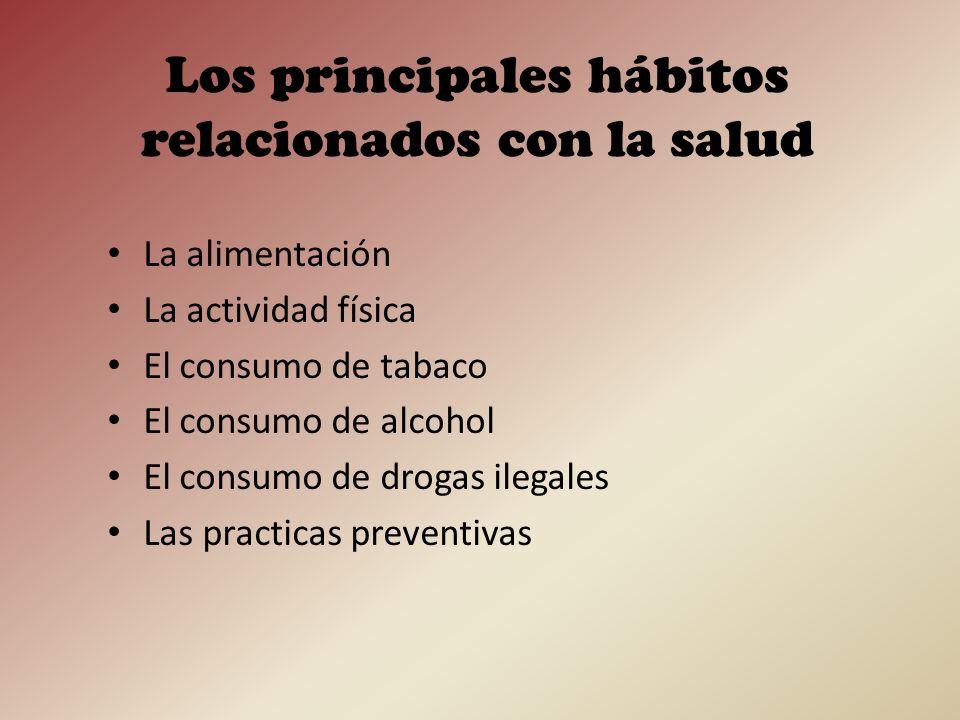 Los objetivos 1.Establecer cuáles son los hábitos relacionados con la salud 2.Conocer algunos de los hábitos relacionados con la salud del alumnado de 1º de bachillerato del IES Joan Ramon Benaprès.