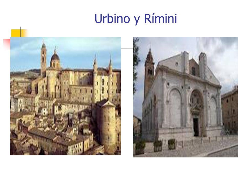 Urbino y Rímini