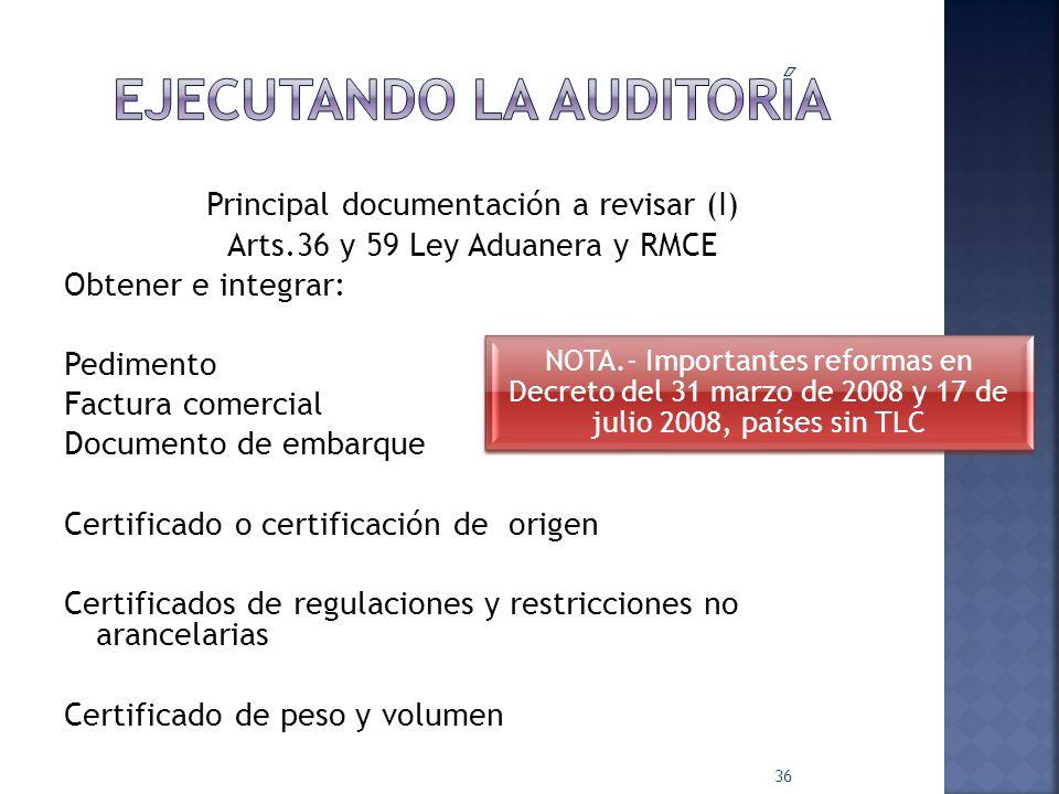 1. INTRODUCCIÓN 2. MARCO LEGAL Y FISCAL DEL COMERCIO EXTERIOR 3. REVISIÓN DE ASPECTOS CORPORATIVOS BÁSICOS 4. PLANEACIÓN DE LA AUDITORÍA 5. INTEGRACIÓ