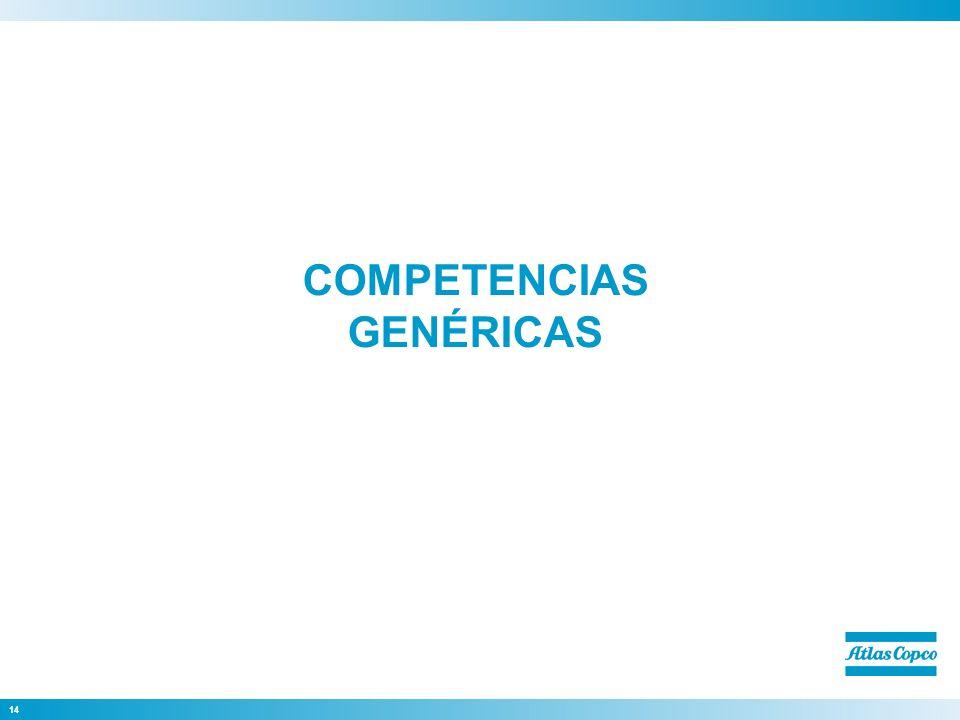 14 COMPETENCIAS GENÉRICAS