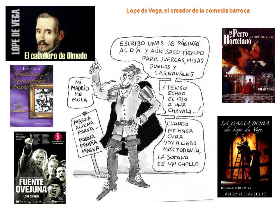 Lope de Vega, el creador de la comedia barroca