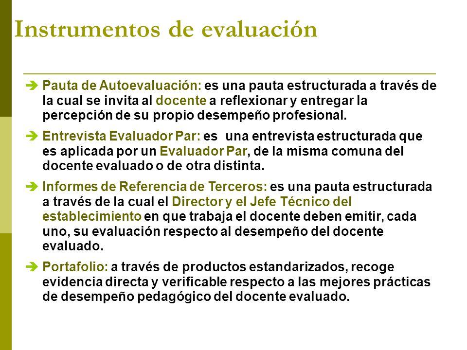 Es un instrumento de evaluación que permite reunir muestras concretas del trabajo del docente, es la evidencia más directa de su desempeño.