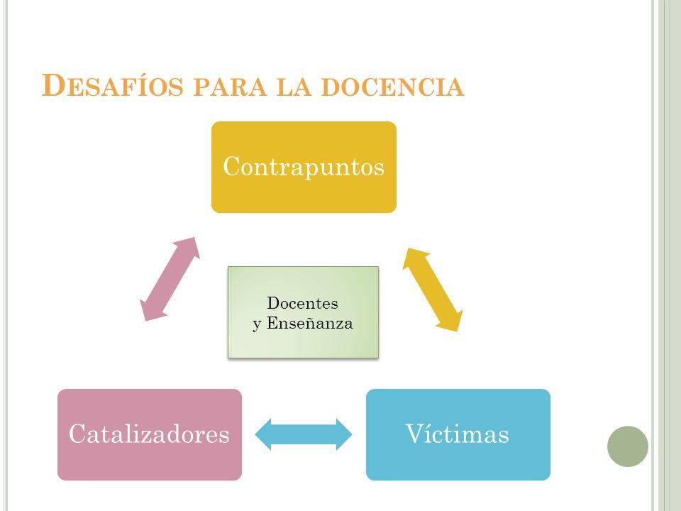 E L PROFESORADO COMO CATALIZADOR DE LA SOCIEDAD DEL CONOCIMIENTO Promover el aprendizaje cognitivo profundo.