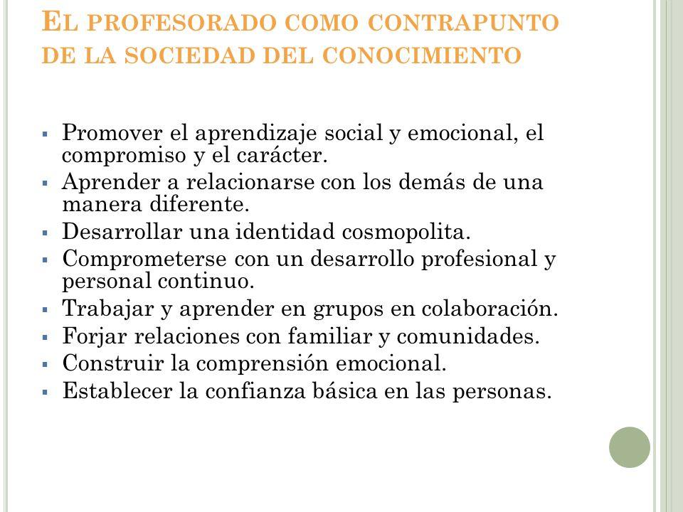 Enseñar en La SDC CreatividadFlexibilidad Resolución de problemas Inteligencia colectiva Confianza profesional Asunción De riesgos Mejora continua Inventiva