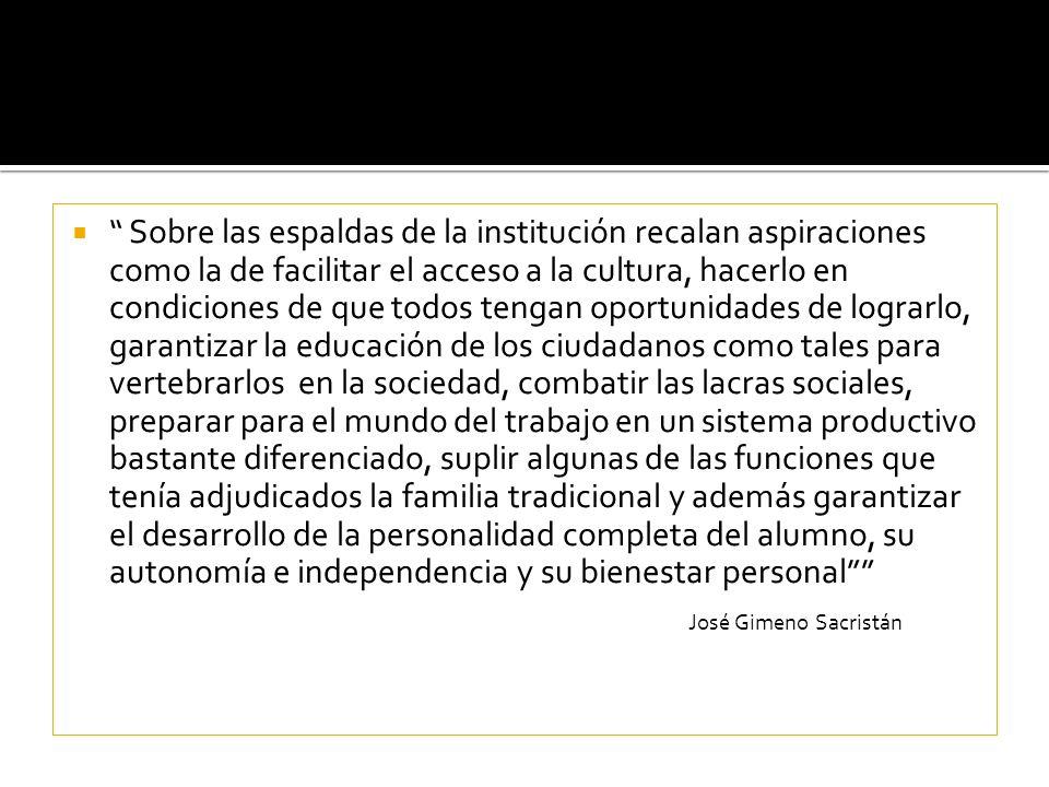 Sobre las espaldas de la institución recalan aspiraciones como la de facilitar el acceso a la cultura, hacerlo en condiciones de que todos tengan opor