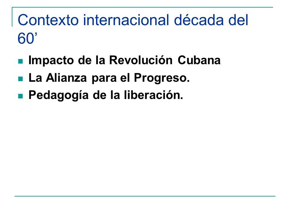 Gobierno de Jorge Alessandri Rodríguez Planes Chillán y Victoria: núcleos escolares campesinos y áreas educativas.