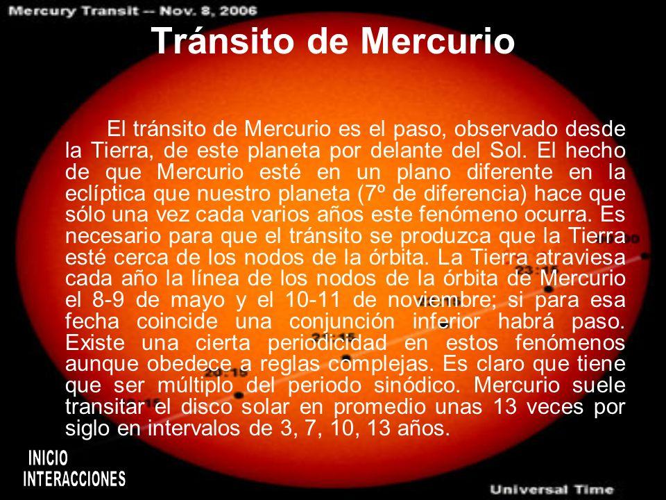 Resonancia orbital Por muchos años se pensaba que la misma cara de Mercurio miraba siempre hacia el Sol, de forma sincrónica, tal y como lo hace la Lu