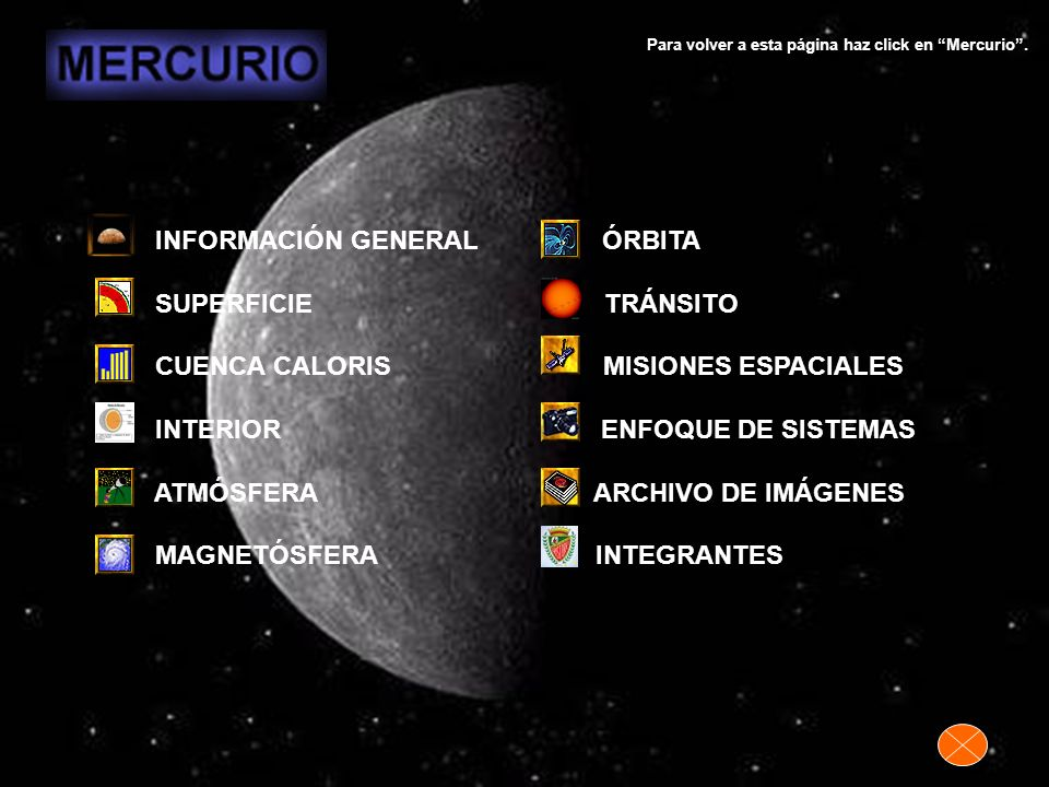 - AMBITO: Sistema Solar.- ELEMENTOS - Suprasistema: Sistema Solar.