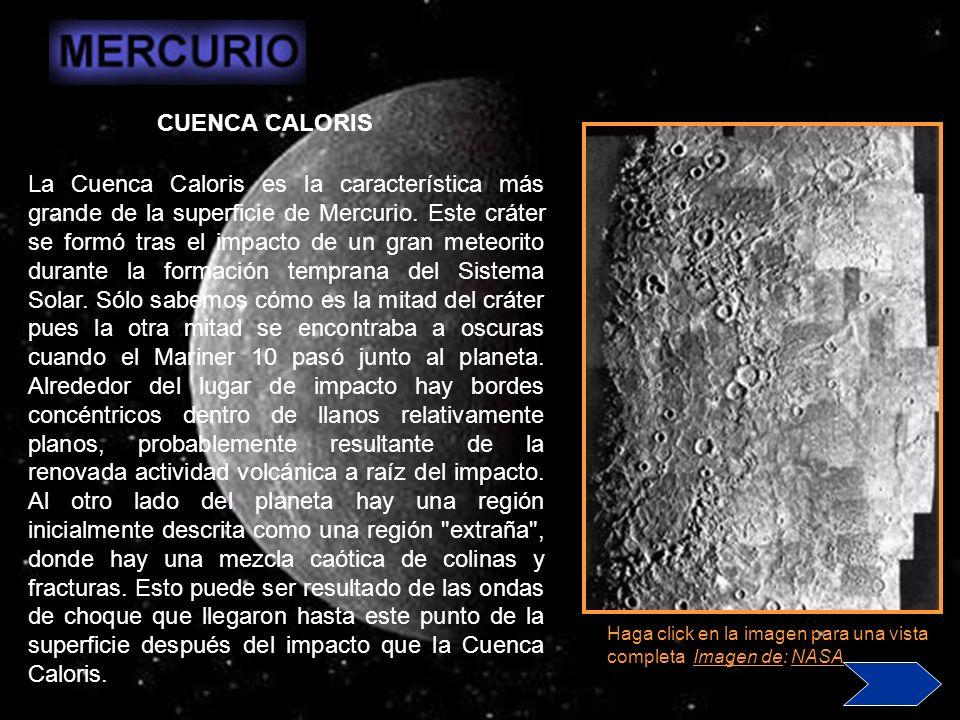La alta densidad de Mercurio se puede usar para aventurar detalles de su estructura interna.