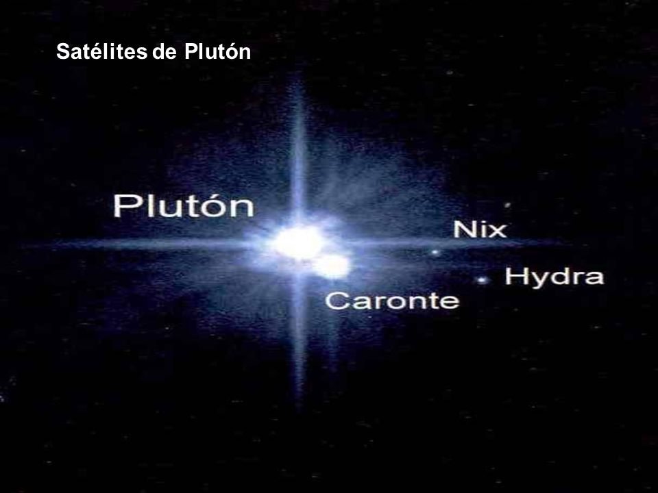 Satélites de Plutón