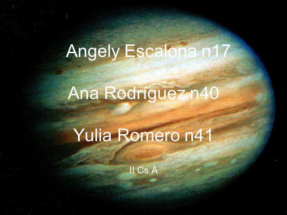 Tabla de contenidos Júpiter 1.Características Generales 2.