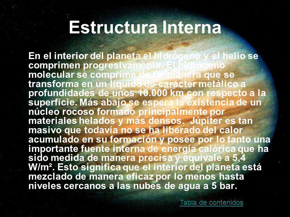 Magnetosfera Júpiter tiene una magnetosfera extensa formada por un campo magnético de gran intensidad.