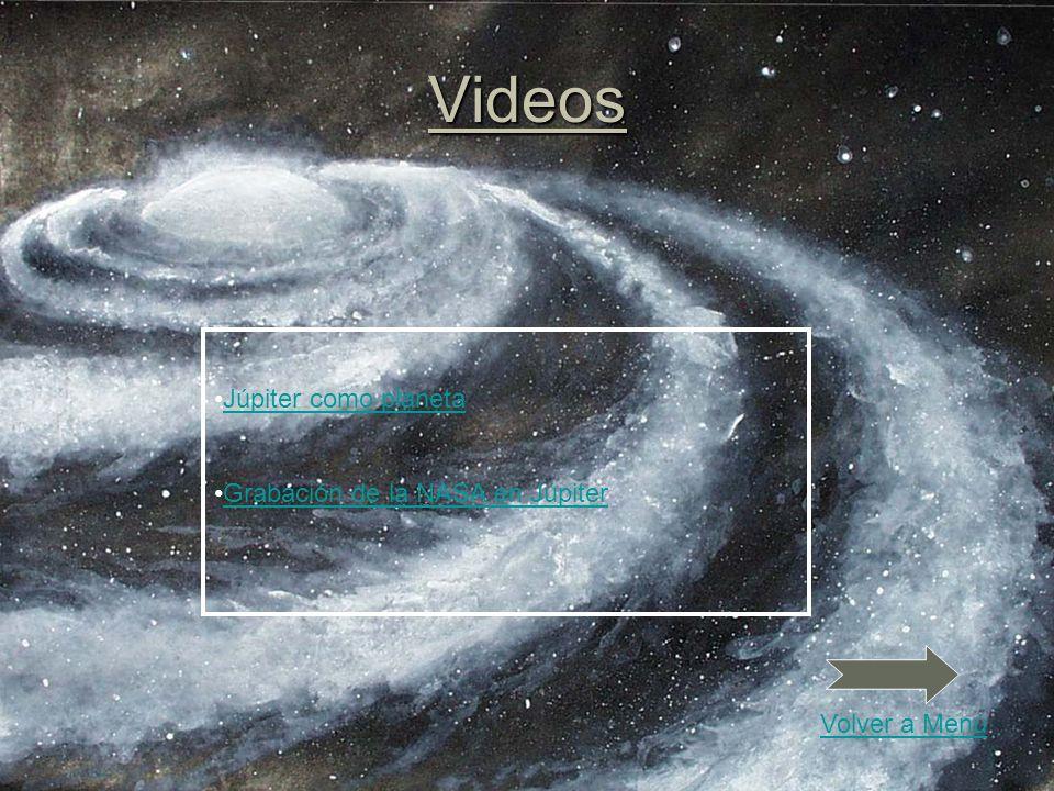 Videos Júpiter como planeta Grabación de la NASA en Júpiter Volver a Menú