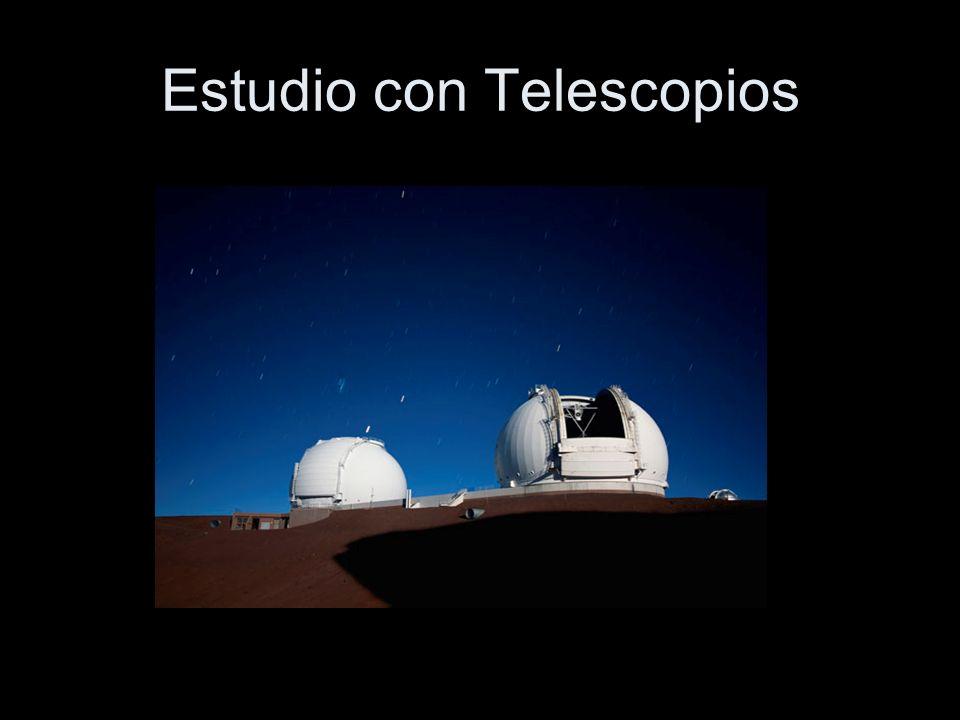 Estudio con Telescopios