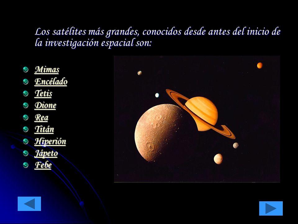 Es el mayor de los satélites de Saturno y el segundo del Sistema Solar, con un diámetro de 5.150 Km.
