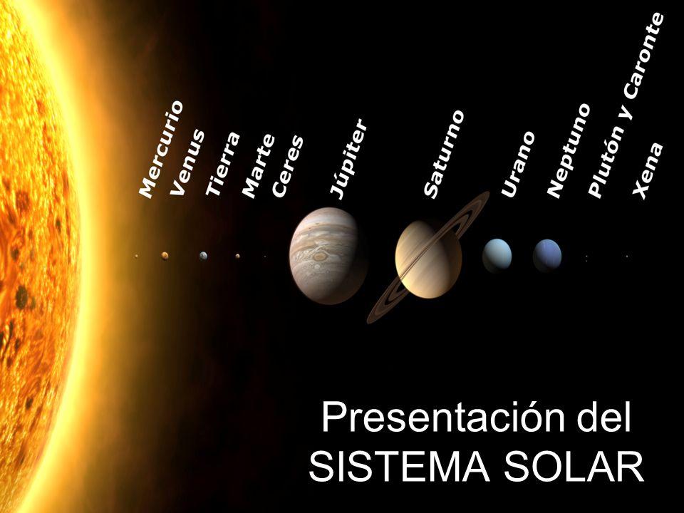 Presentación del SISTEMA SOLAR