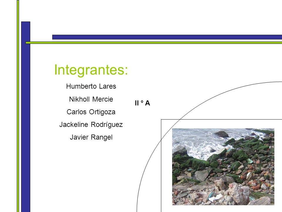 Integrantes: Humberto Lares Nikholl Mercie Carlos Ortigoza Jackeline Rodríguez Javier Rangel II ° A