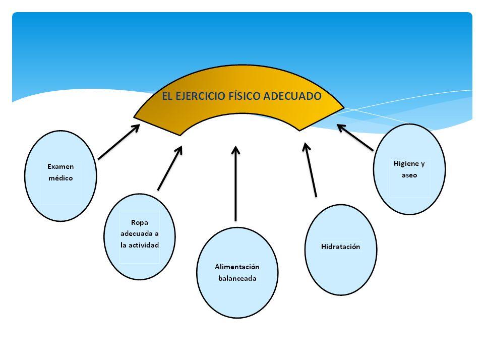 PAUTAS PARA REALIZAR EJERCICIOS FÍSICOS Realizar un activación previa o calentamiento.