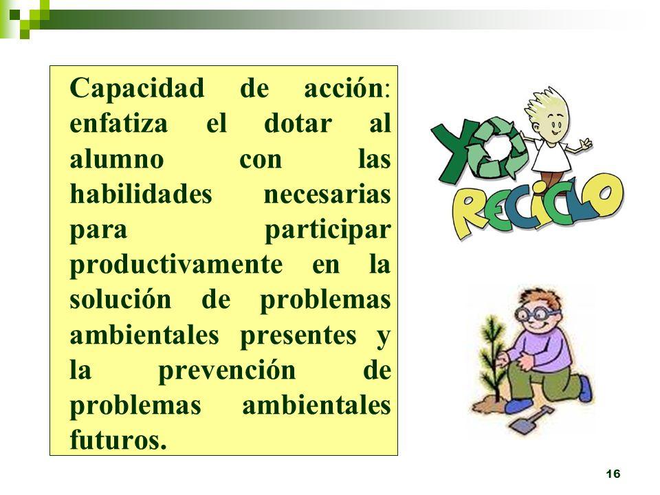 15 Investigación y Evaluación de problemas: implica aprender a investigar y evaluar problemas ambientales ¿es mejor para el ambiente usar pañales de t