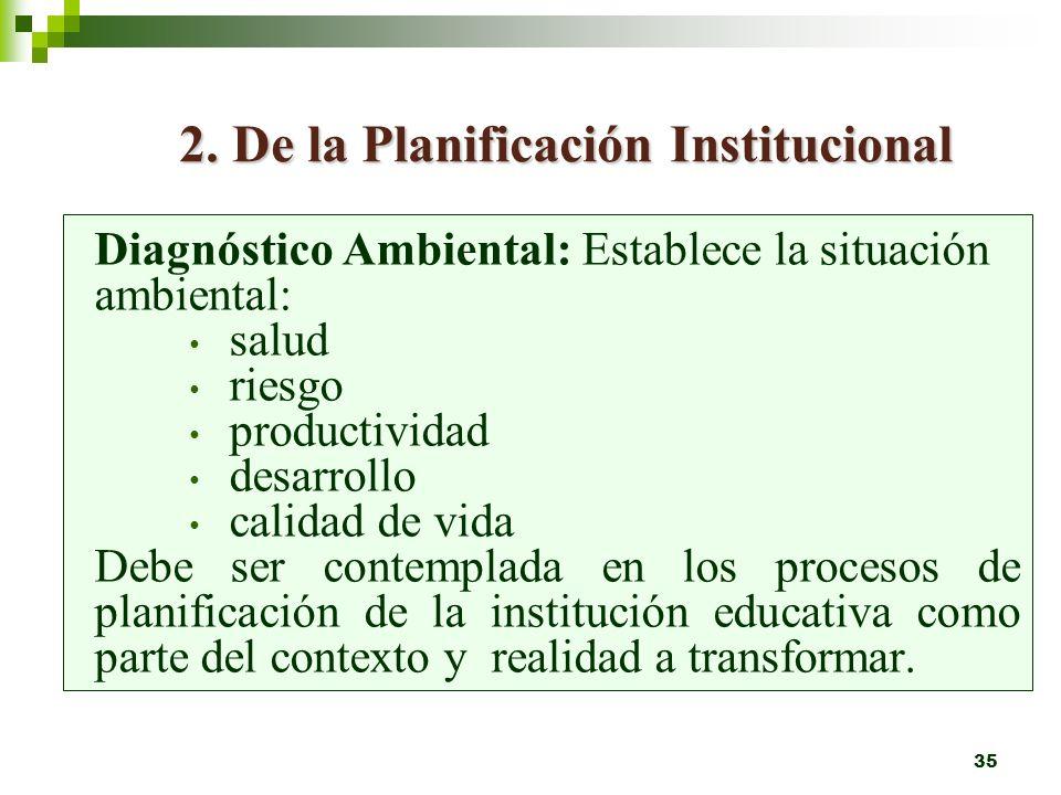 34 HERRAMIENTAS PEDAGOGICAS SUGERIDAS 1. Diagnósticos socioculturales y ambientales grupales de la institución y de la comunidad. Adquisición de nocio
