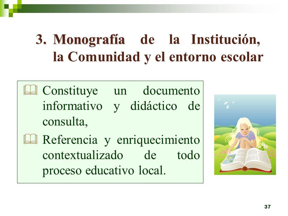 36 Mediante: Proyecto Educativo. Planes anuales. Planeamiento Didáctico Favoreciendo: Desarrollo de hábitos. Conductas. Actitudes propiciados y estimu