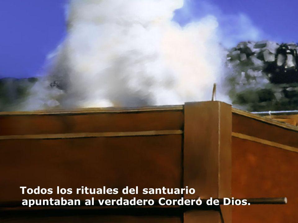 Todos los rituales del santuario apuntaban al verdadero Cordero de Dios.