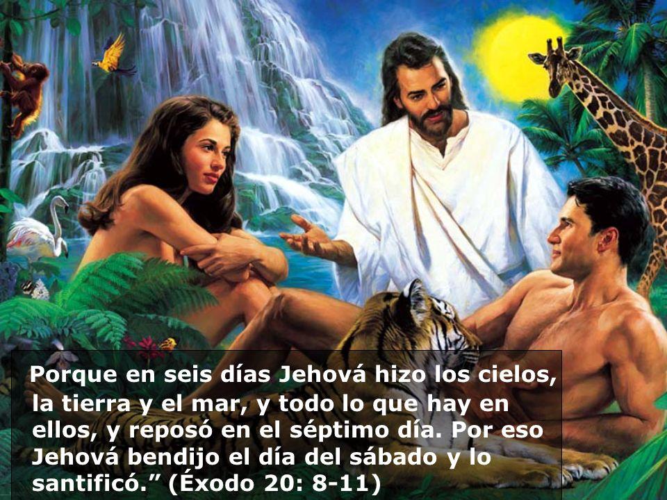 Fue Jesús quien creó y transformó al sábado santo. Por lo tanto, el sábado es cristiano, no judío.