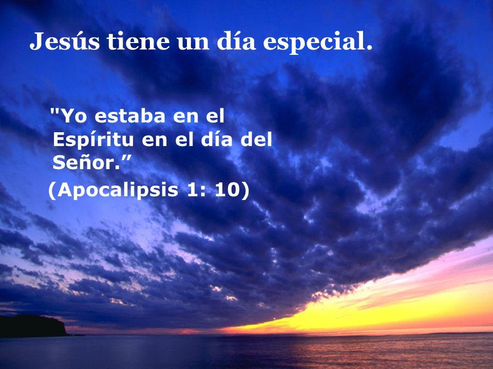 ¿Cuál es el día especial para Jesús?