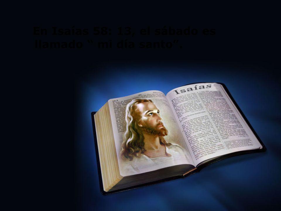 2.500 años antes del surgimiento de los judíos, Jesús creó y santificó el sábado.