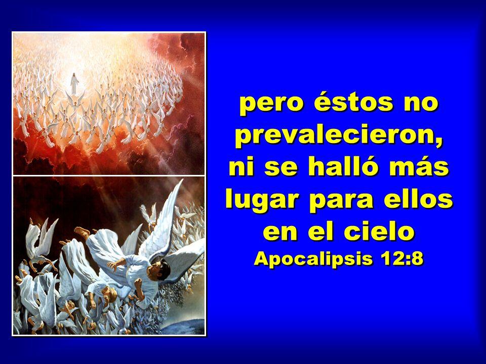 Y hubo una gran batalla en el cielo. Miguel y sus ángeles combatieron al dragón, y el dragón y sus ángeles combatieron Apocalipsis 12:7