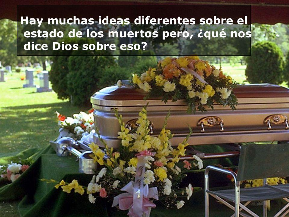 Si los muertos pudiesen ver a sus queridos pasando necesidad o pesares, no podrían disfrutar del cielo.