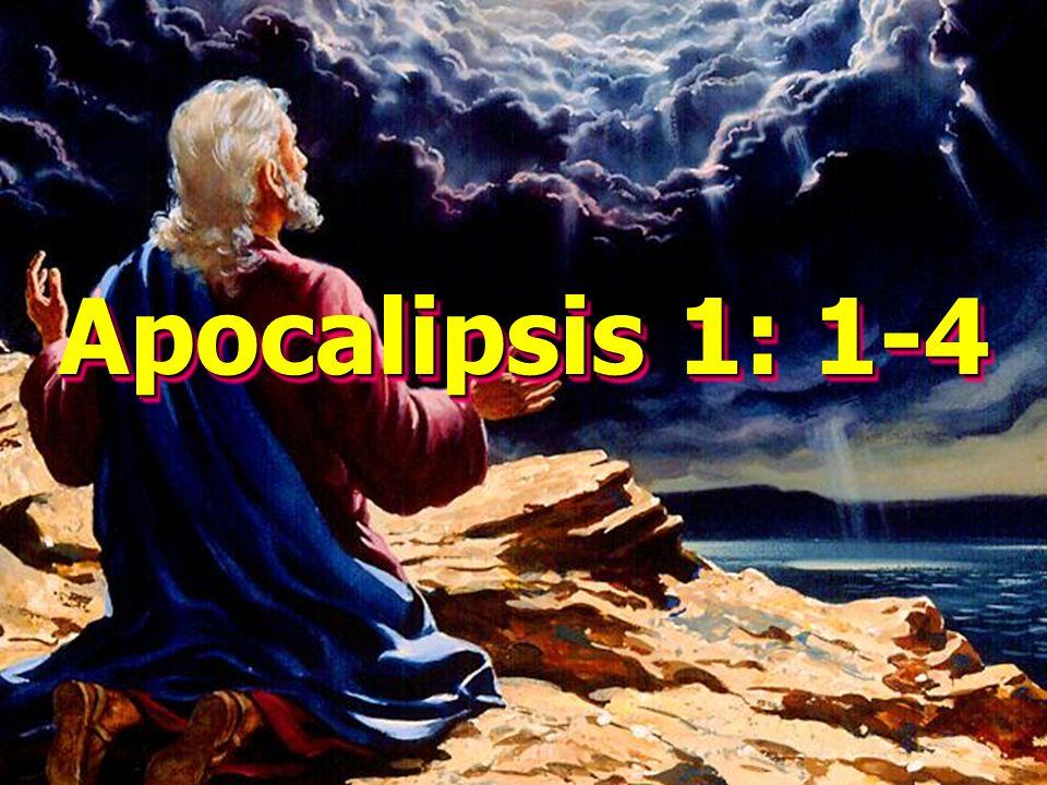 Apocalipsis 1: 1-4