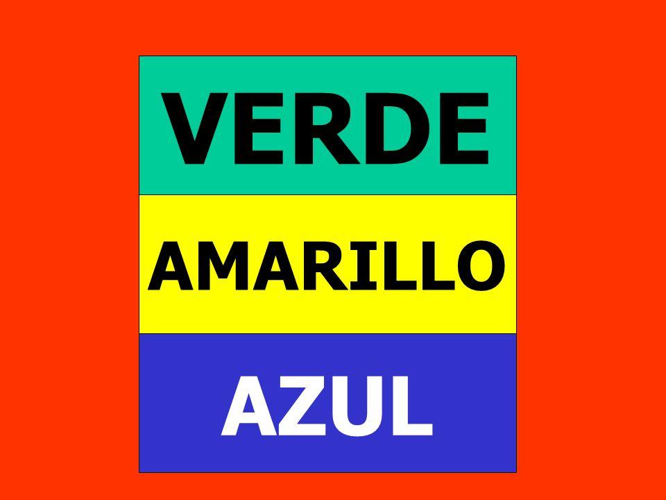 AZUL AMARILLO VERDE