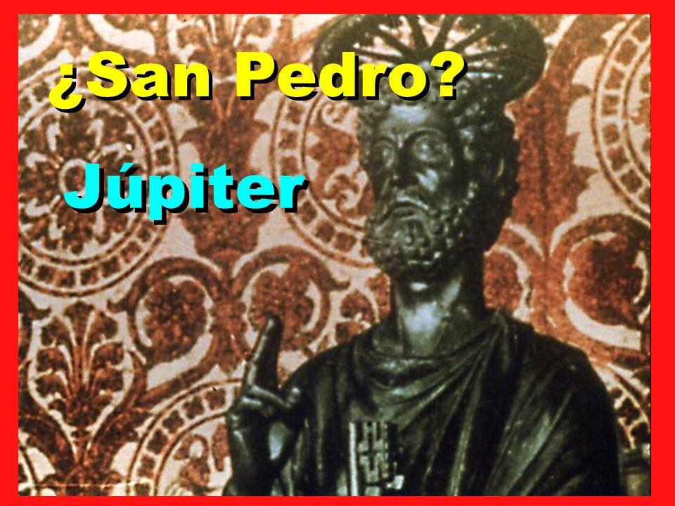 ¿San Pedro? Júpiter